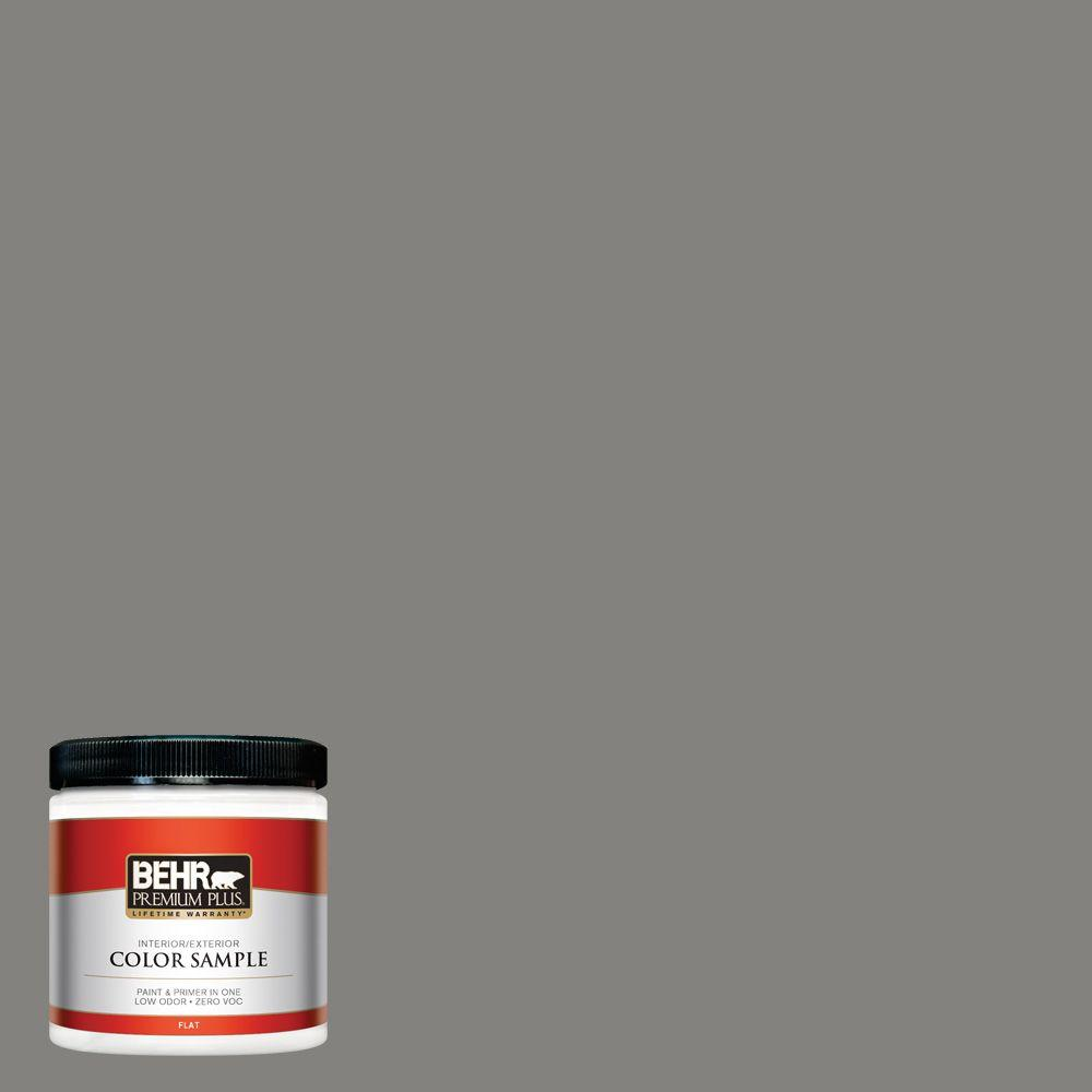 8 oz. #BNC-25 Gray Pepper Interior/Exterior Paint Sample