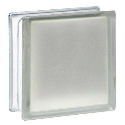 7.75 in. x 7.75 in. x 3.12 in. Frosted Pattern Glass Block (10-Pack)