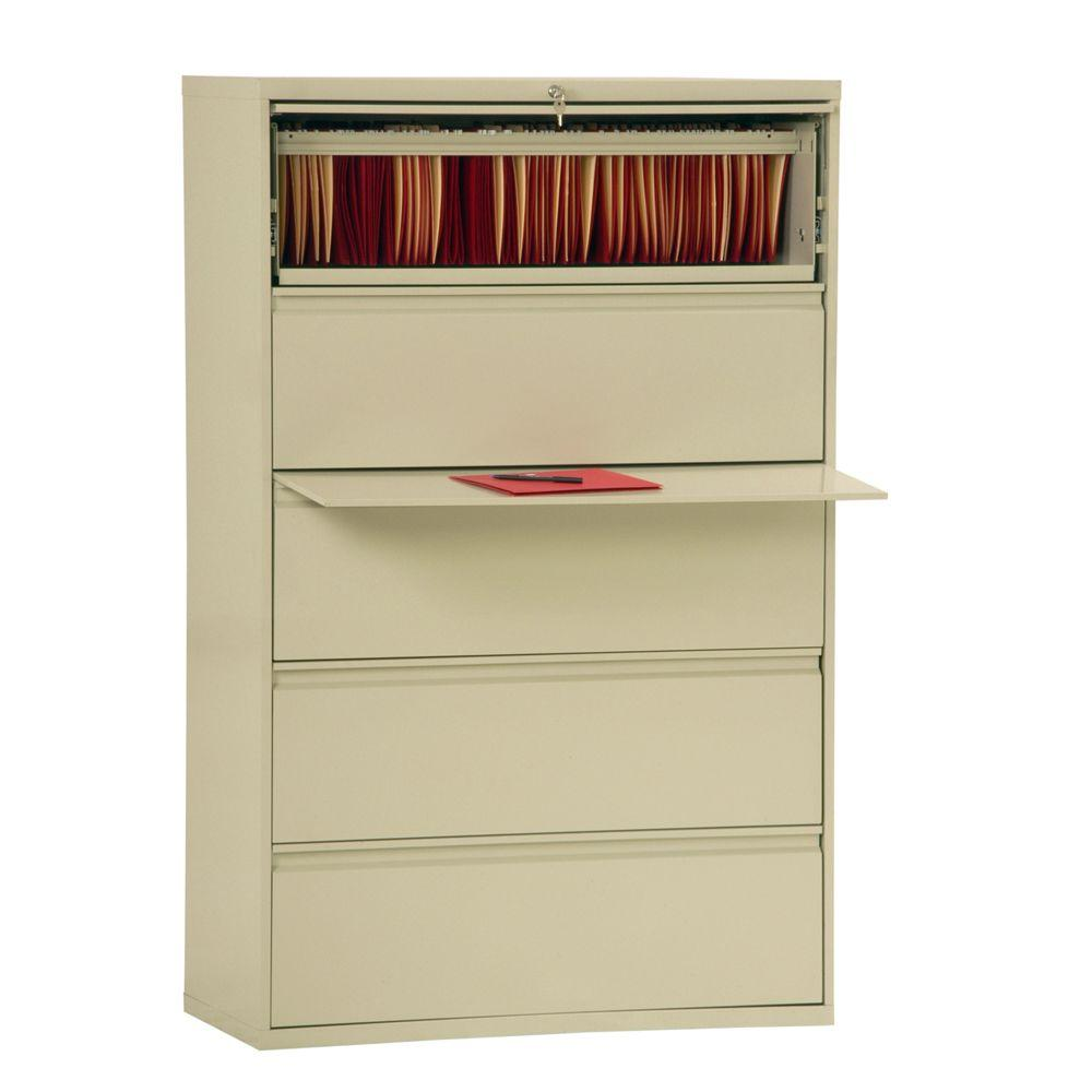 Sandusky 800 Series Putty File Cabinet-LF8F425-07 - The Home Depot