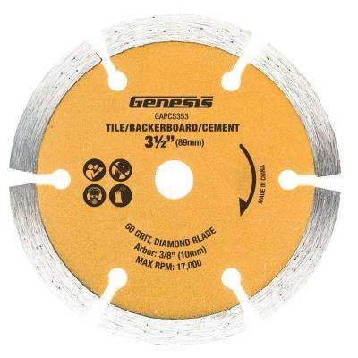 3-1/2 in. Diamond Saw Blade