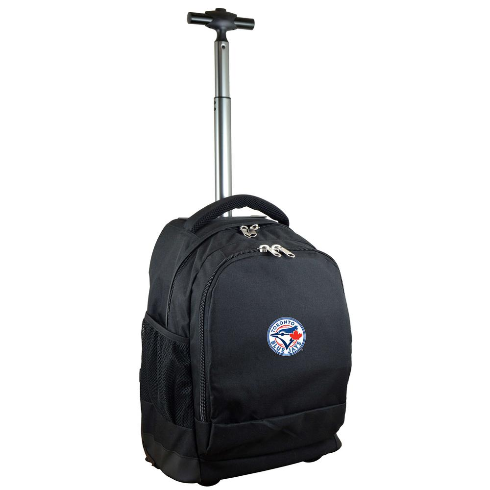 MLB Toronto Blue Jays 19 in. Black Wheeled Premium Backpack