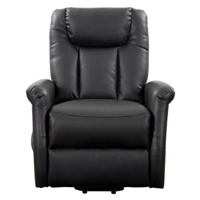Faux Leather Power Lift Recliners Living Room Furniture The Home Depot