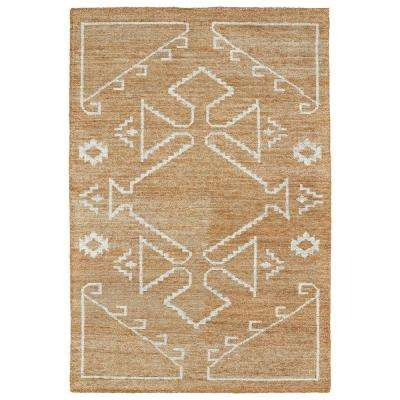 Solitaire Copper 8 ft. x 11 ft. Area Rug
