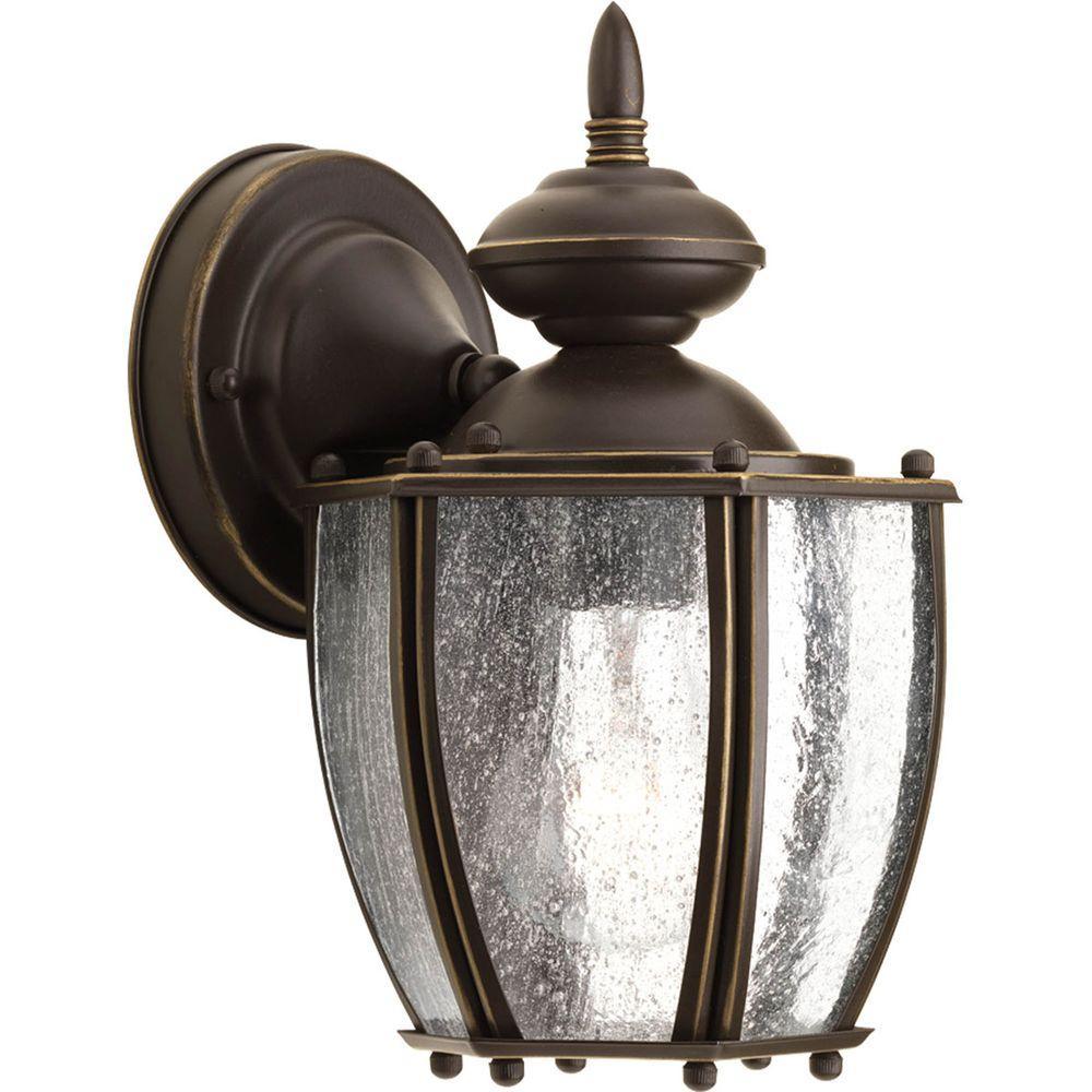 Roman Coach Collection 1-Light Outdoor Antique Bronze Wall Lantern