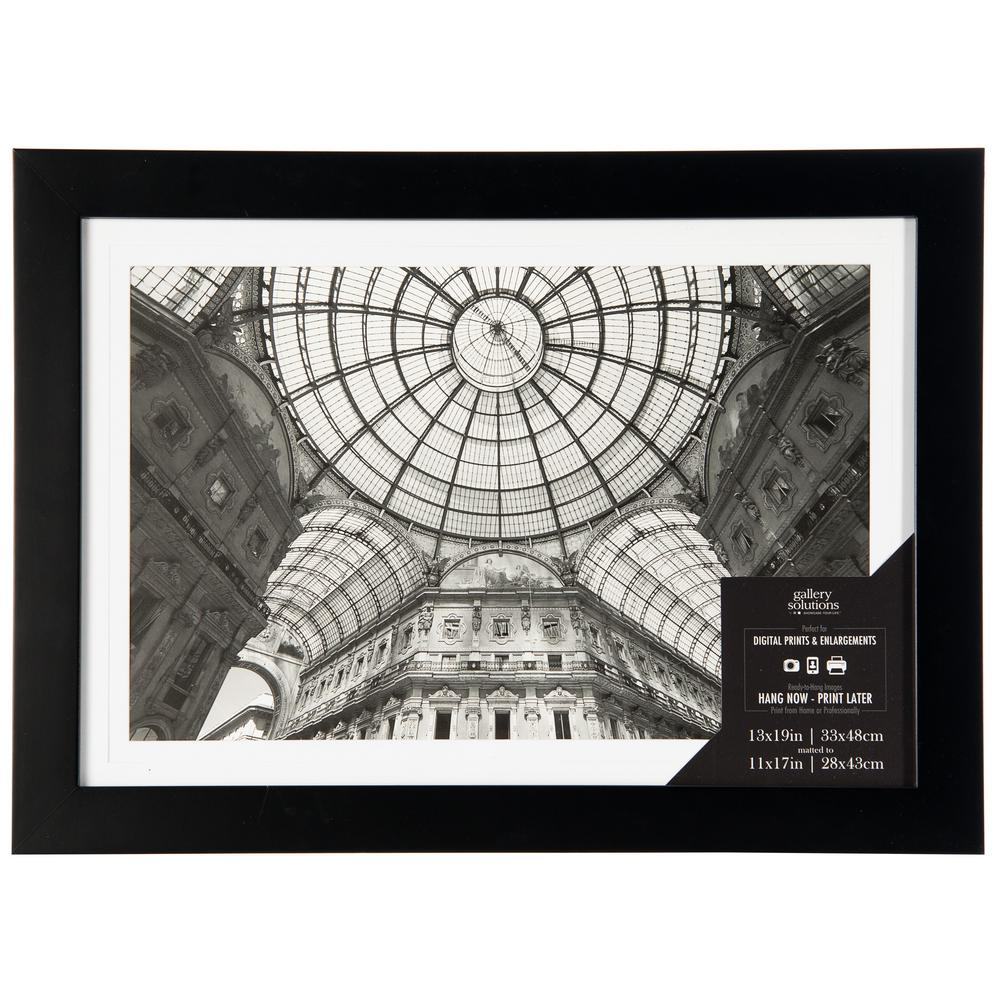 Pinnacle 1-Opening 11 in. x 17 in. Matted Picture Frame-16FW1047E ...