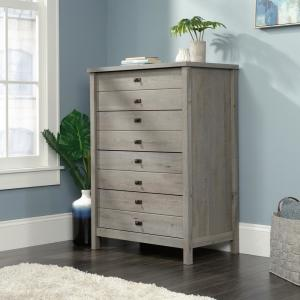 Cottage Road 4-Drawer Mystic Oak Chest