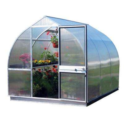 7 ft. 8 in. W x 10 ft. 6 in. L Greenhouse