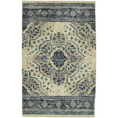 Javed Blue 5 ft. x 8 ft. Area Rug