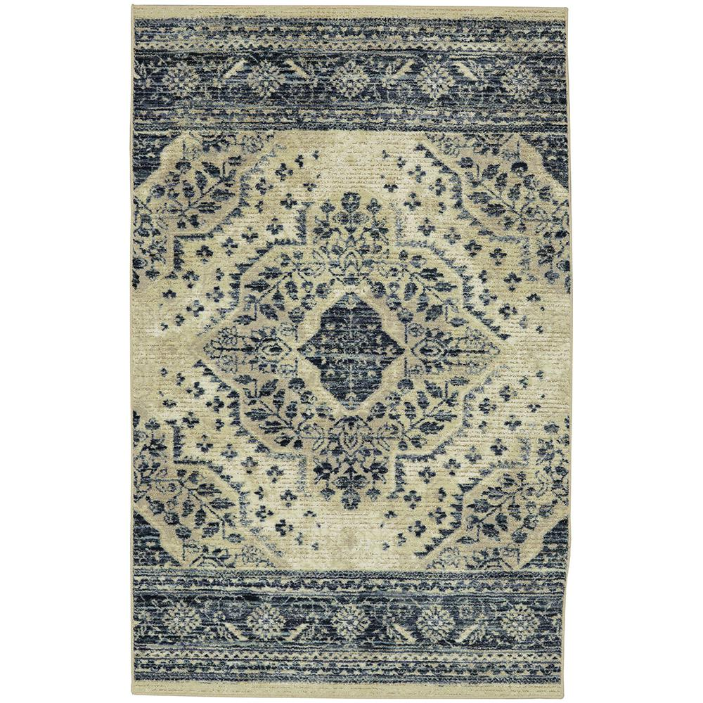 Mohawk Home Javed Blue 7 Ft 6 In X 10 Area Rug