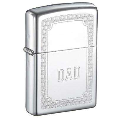 Zippo Crisscross Design Father's Day Lighter