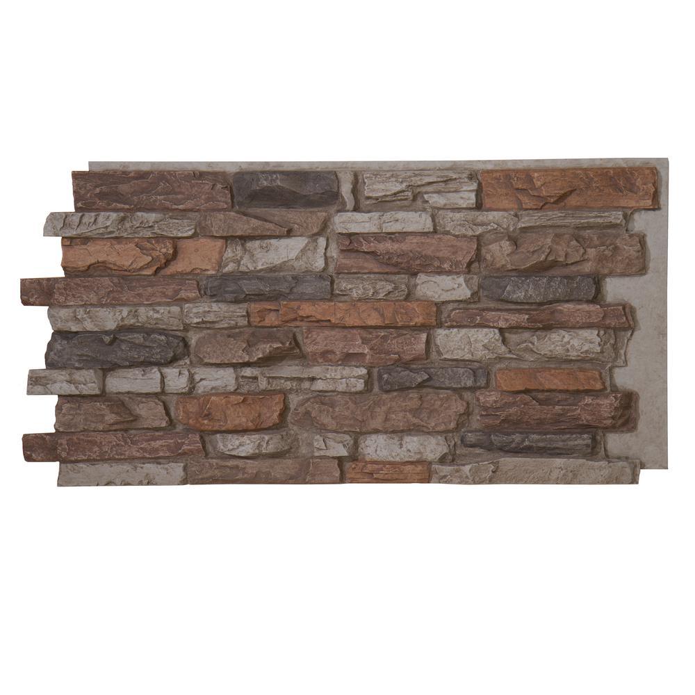 Panels - Faux Stone - Stone Veneer - The Home Depot
