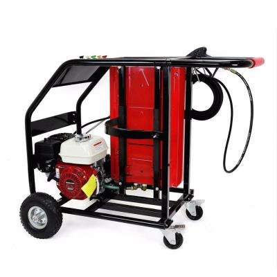 3000 PSI 2.6 GPM Heavy-Duty Instant Hot/Cold Water Gas Pressure Washer Powered By Honda GX200 Engine