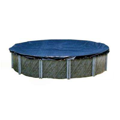 15 ft. Round Above Ground Winter Swimming Pool Cover, Blue (2-Pack)