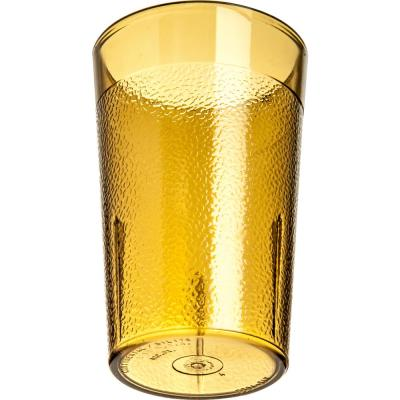 Stackable 5 oz. Amber SAN Tumbler (12-Pack)