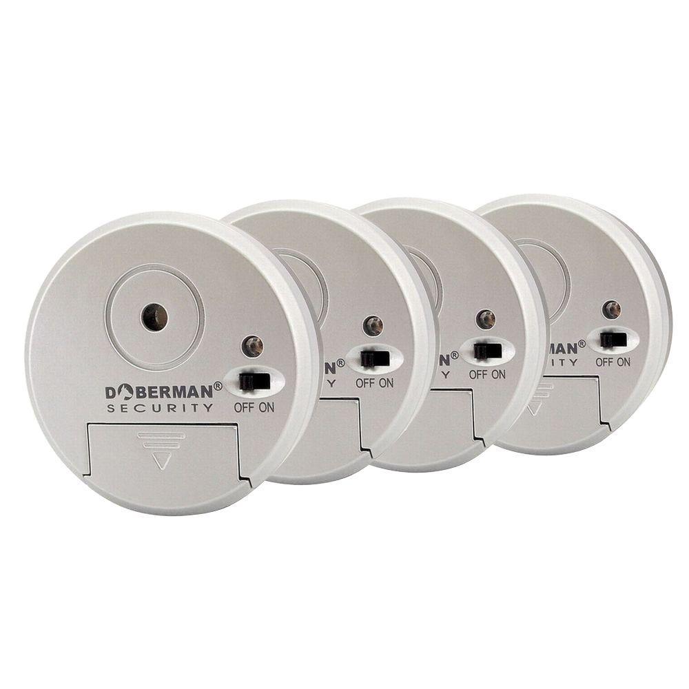 Doberman Security Portable Door Alarm With Flashlight 2