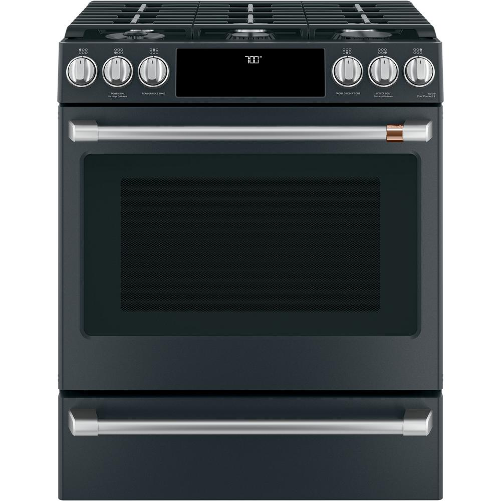30 in. 5.6 cu. ft. Gas Range with Self-Clean Oven in
