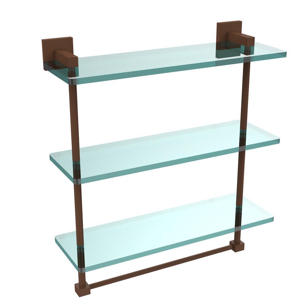 18 Glass Bathroom Shelf - Glass Designs