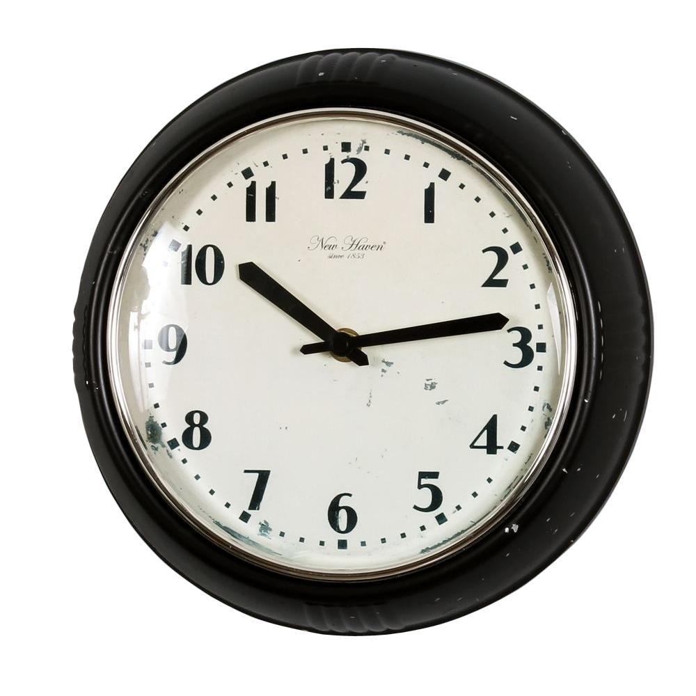 Nextime 9.63 in. Plastic Wall Clock-DISCONTINUED