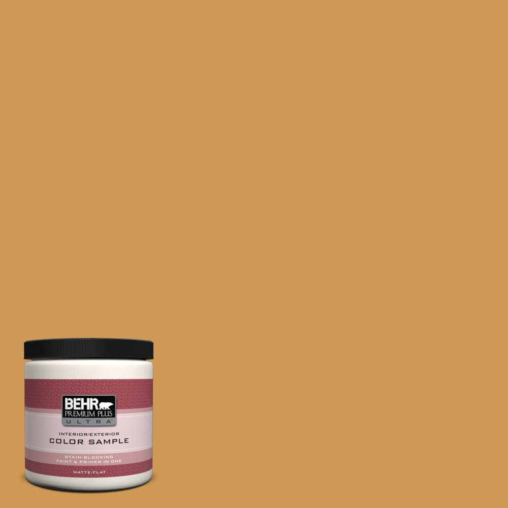 BEHR Premium Plus Ultra 8 oz. #M270-6 Glazed Pears Interior/Exterior Paint Sample