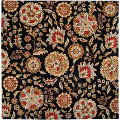 Alstonia Red 10 ft. x 10 ft. Square Indoor Area Rug