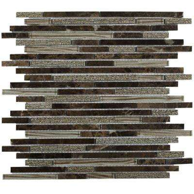 Paradise Valhalla Glass Wall Tile - 3 in. x 6 in. Tile Sample
