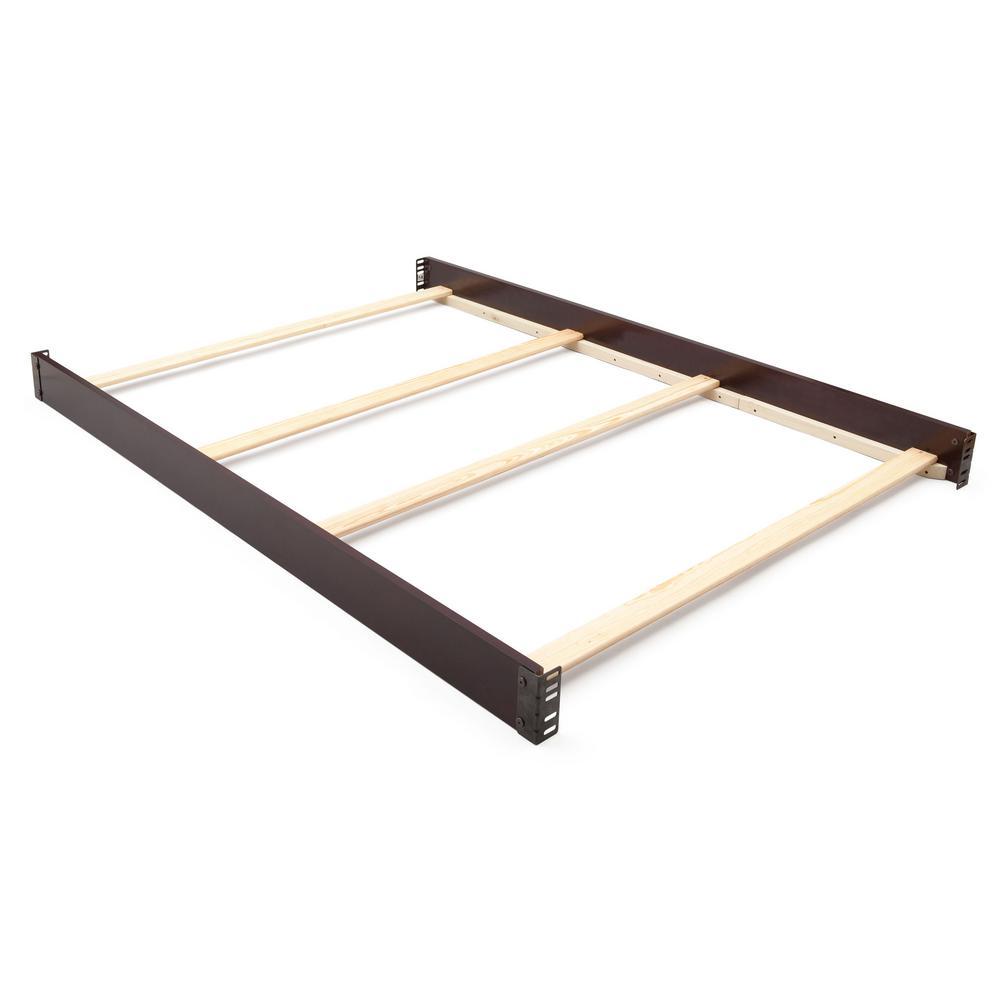 Delta Children Dark Chocolate Full Size Bed Rails