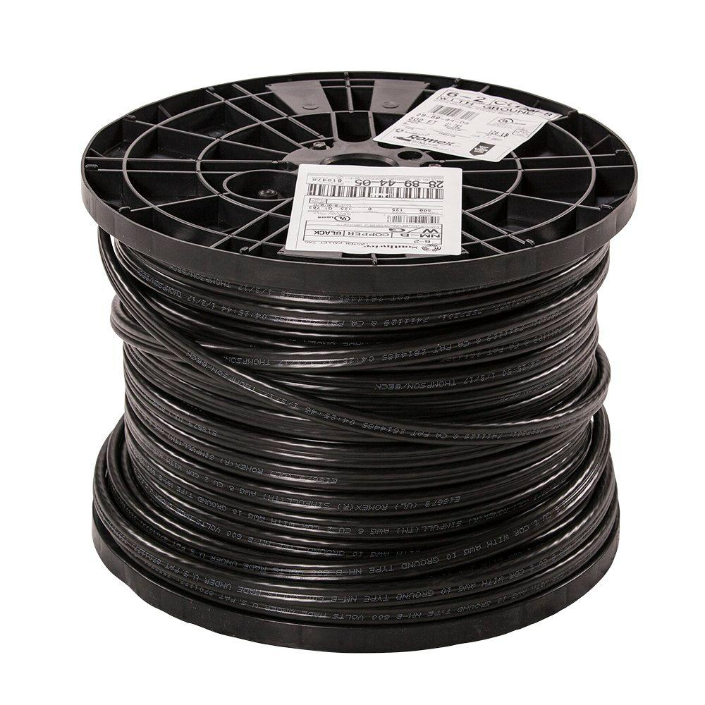 Southwire 500 Ft 8 3 Stranded Romex Simpull Cu Nm B W G Wire Electrical Cerrowire Wiring 25 12 2 Underground 6