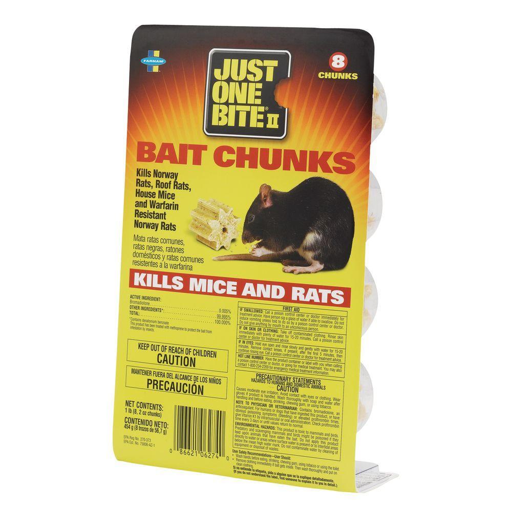 Farnam 1 lb. Mice and Rat Bait Chunks-DISCONTINUED