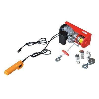 880 lb. Electric Hoist with Remote Control