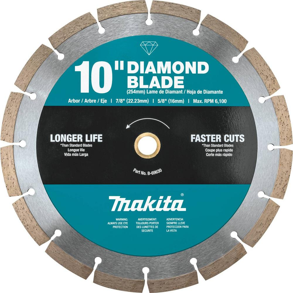 Makita Makita 10 in. Segmented Rim Diamond Blade for General Purpose