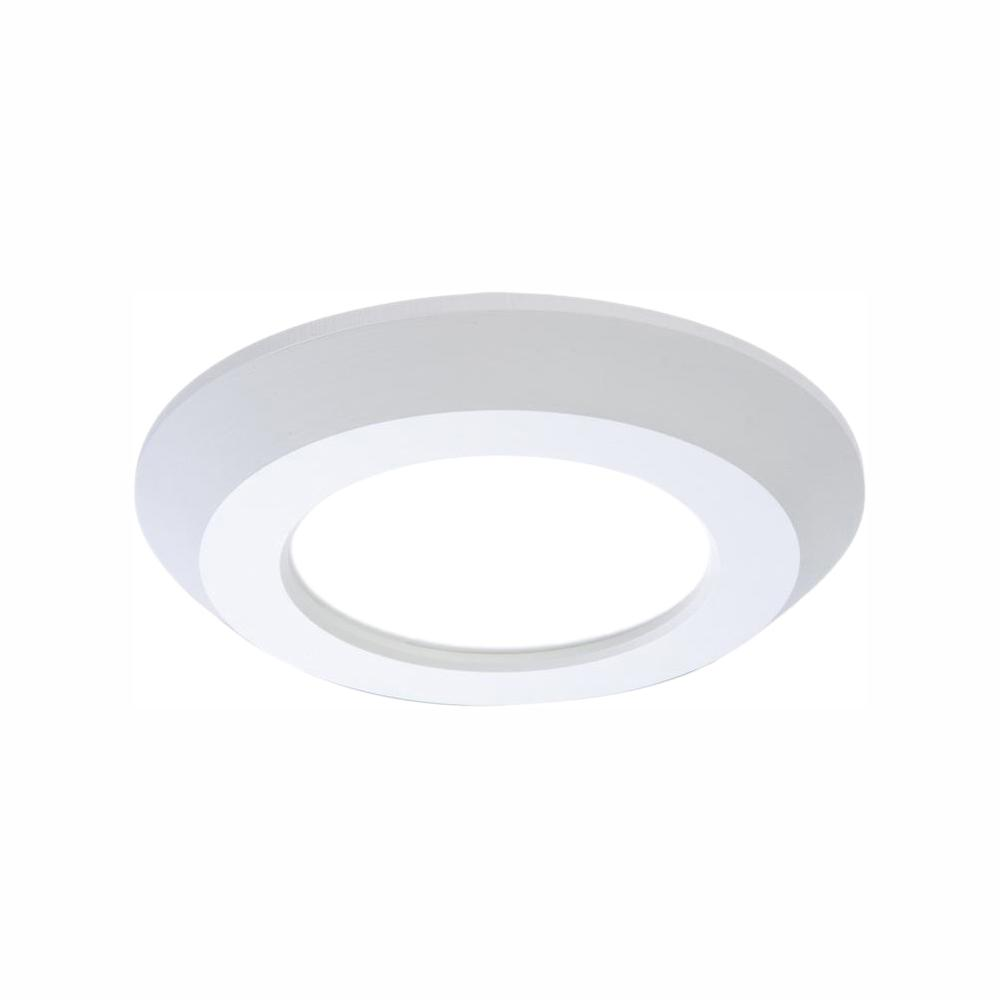 Halo Sld 4 In White Integrated Led Recessed Retrofit Ceiling Mount Light Fixture With 90 Cri 4000k Cool