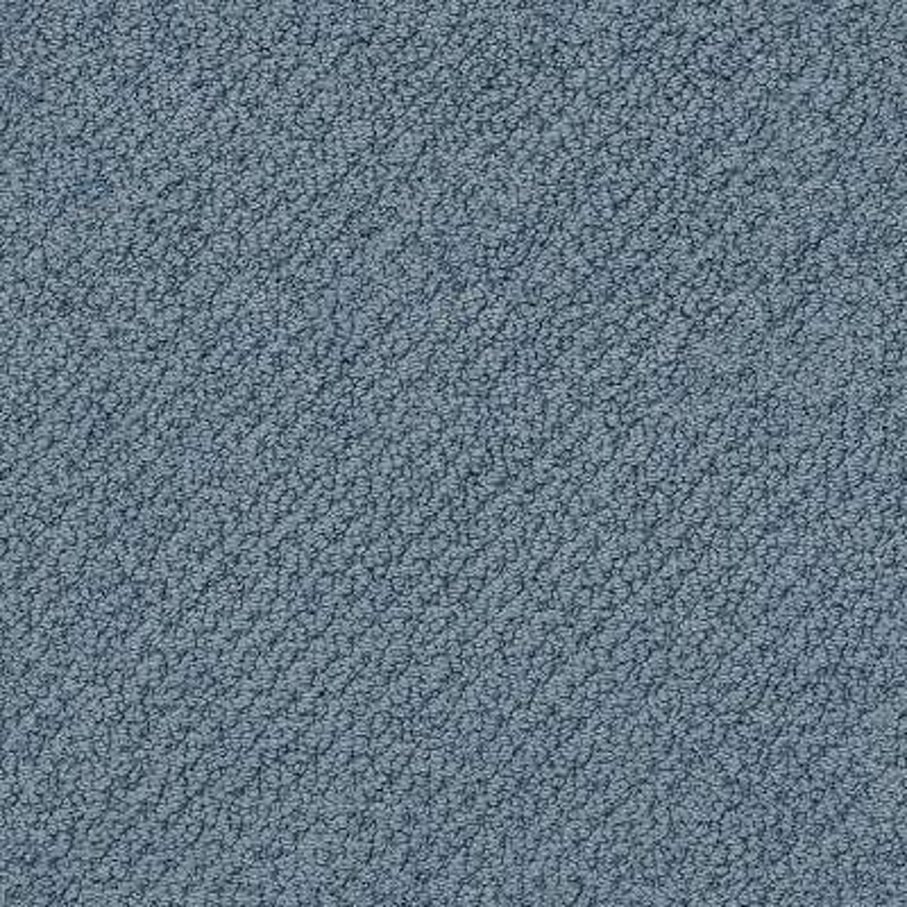 Carpet Sample - Lightbourne - Color Blue Sky Loop 8 in. x 8 in.