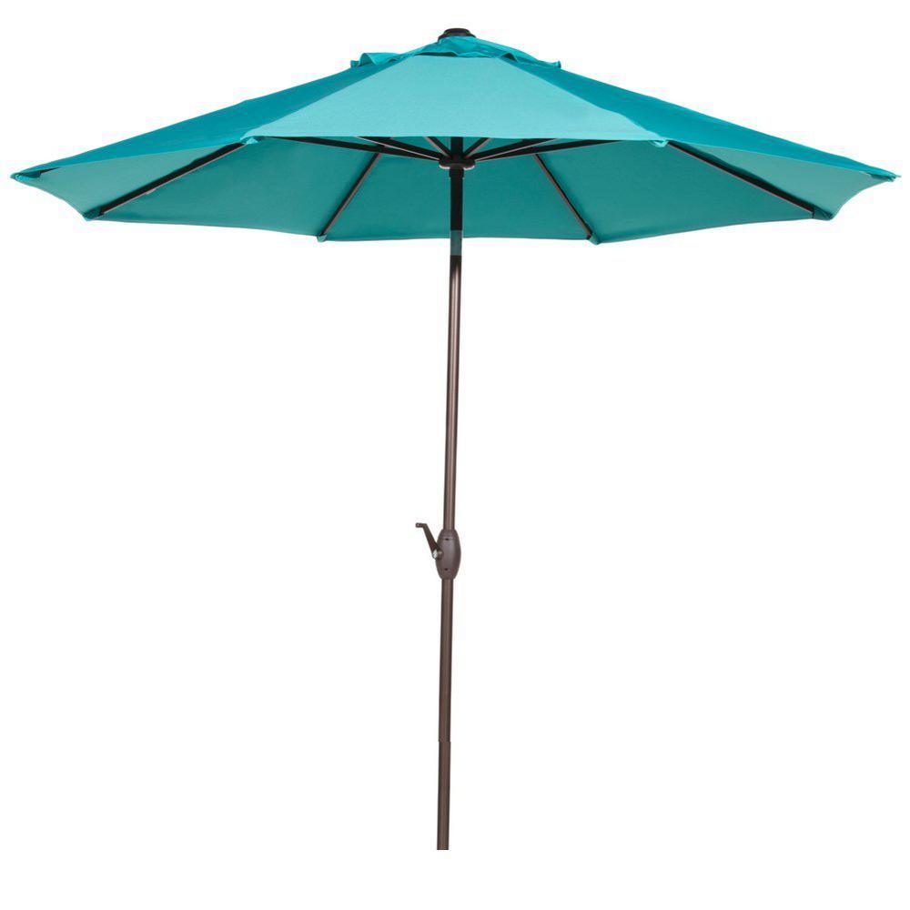 how to close a patio umbrella