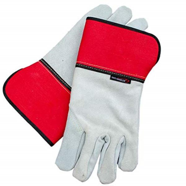 Performance Full Split, Leather Palm, Safety Work OSFM Leather Gloves (1-Pair)