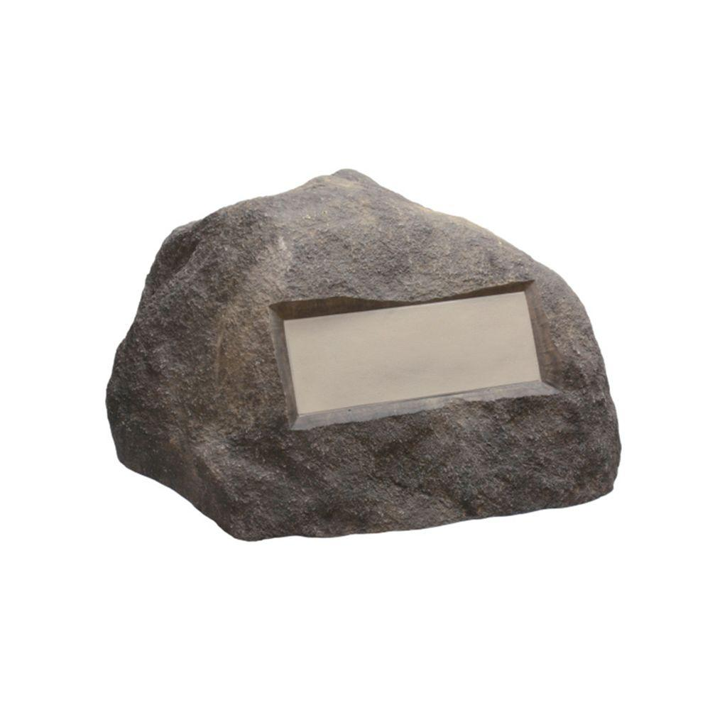 Outdoor Essentials 31 in. x 27 in. x 16.5 in. Gray Address Rock