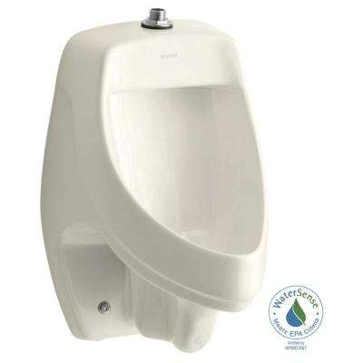 Dexter 0.5 or 1.0 GPF Urinal with Top Spud in Biscuit