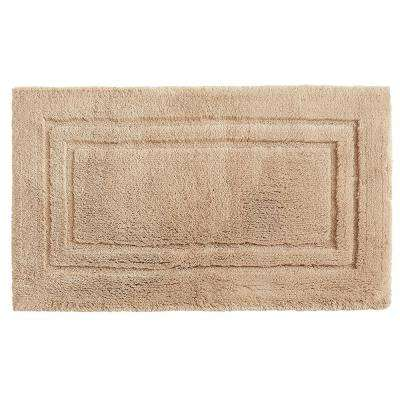 Imperial 20 in. x 34 in. Cotton Bath Mat in Barley