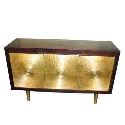 Beltsy Collection Merlot Console Table