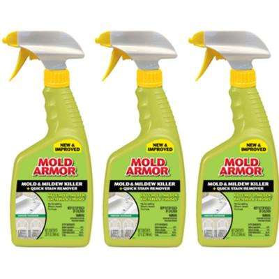 32 oz. Mold and Mildew Killer with Quick Stain Remover (3-Pack)