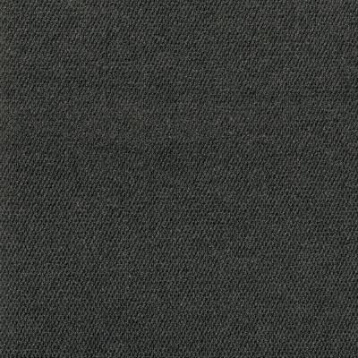 Peel and Stick First Impressions Black Ice Hobnail Texture 24 in. x 24 in. Commercial Carpet Tile (15 Tiles/Case)