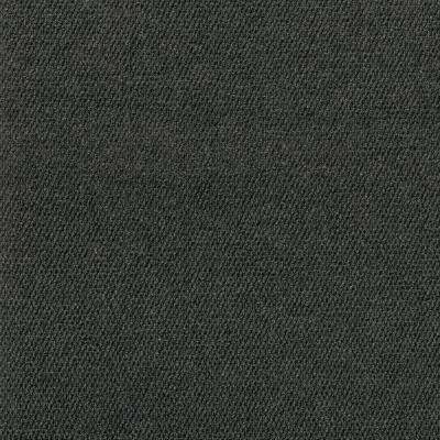 Premium Self-Stick First Impressions Black Ice Hobnail Texture 24 in. x 24 in. Carpet Tile (15 Tiles/Case)