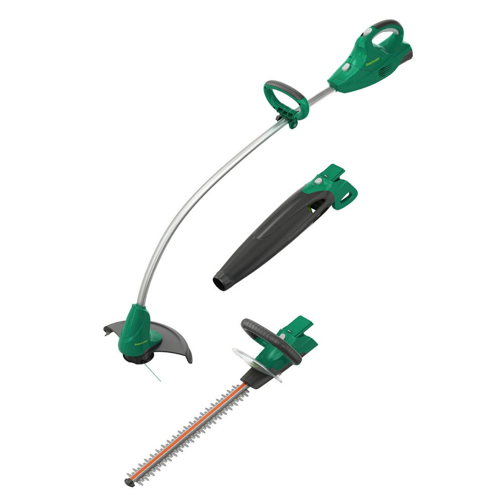 Weed Eater 20-Volt Lithium-Ion Cordless String Trimmer/Hedger/Blower Combo Kit (3-Tool)