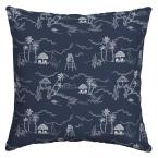 Beach Scene Square Outdoor Throw Pillow (2-Pack)