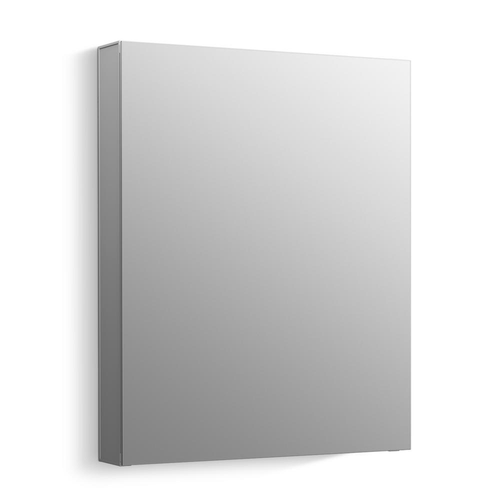 KOHLER Maxstow 20 in. x 24 in. Frameless Surface-Mount Aluminum Medicine Cabinet