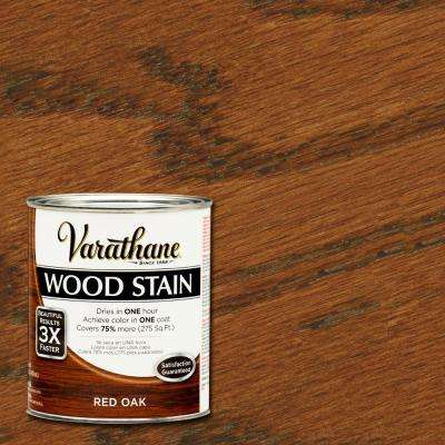 1 qt. 3X Red Oak Premium Wood Stain (Case of 2)