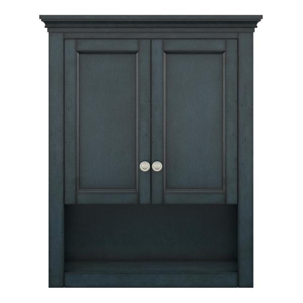 Lamport 26 in. W x 32 in. H Wall Cabinet in Harbor Blue