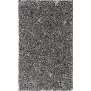Tayse Rugs Berkshire Shag Gray 2 ft. x 3 ft. 3 inch Accent Rug by Tayse Rugs