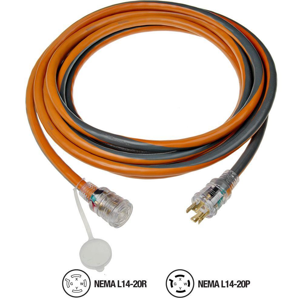 12/4 generator cord