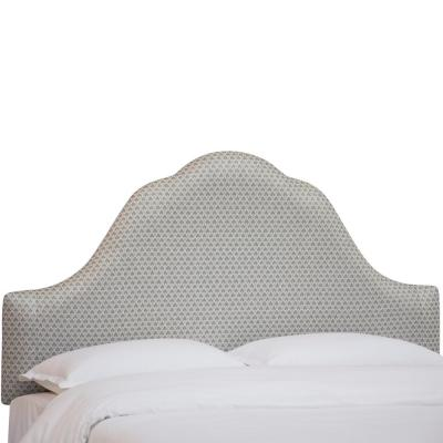Carrie Diego Champagne California King Arched Headboard
