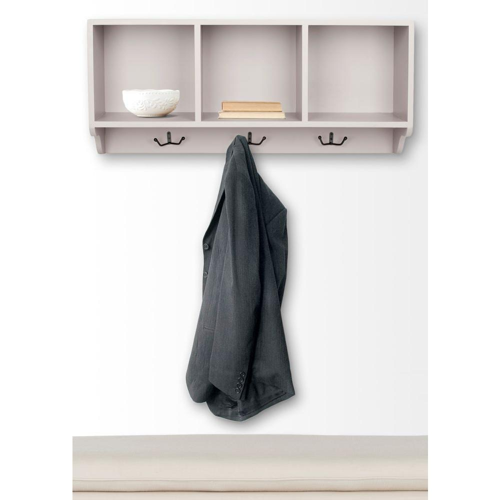 Safavieh Alice Grey Wall Mounted Coat Rack